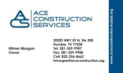 Hilmer Morgan Ace Construction